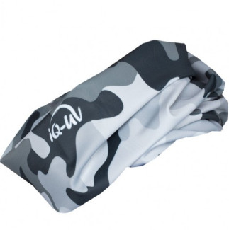 Шарф-труба из лайкры IQ-UV 300+ Camo Grey