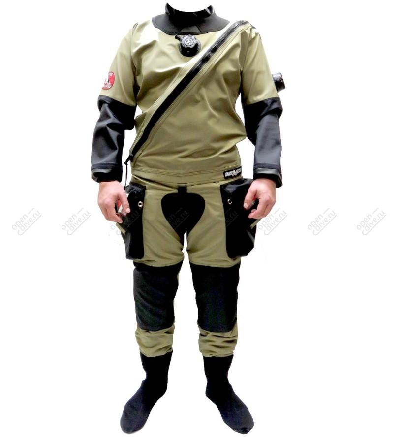 Гидрокостюм сухой Dive System Solo Expedition Ranger