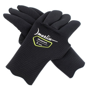 Перчатки Marlin Ultrastretch Black 2 мм